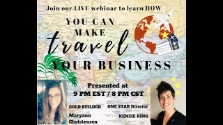 Work from home in the LARGEST industry in the WORLD, TRAVEL!