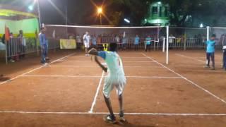 Tennikoit opening cermony matches of 35th junior state ...miraj sangli