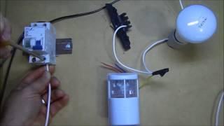 curso instalaçoes eletricas 3 como instalar sensor de presença com interruptor simples