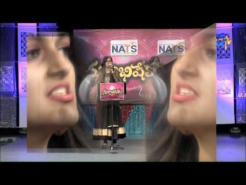 Manohara Song - Harika Performance in ETV Swarabhishekam 6th Dec 2015