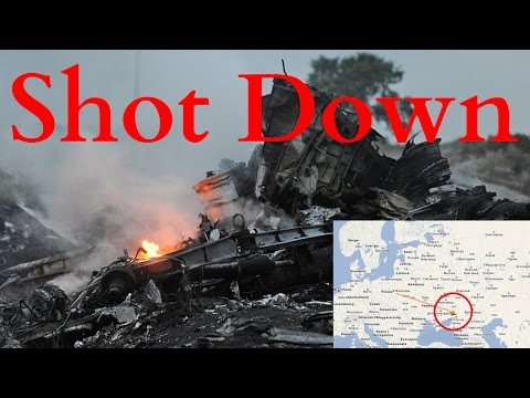 Malaysian Airline Jet Plane MH17 Crashes in Eastern Ukraine - Video