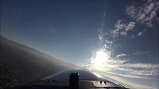 Cessna 172 Winter Morning Flight to San Jose International Airport (サンノゼ国際空港のフライト)