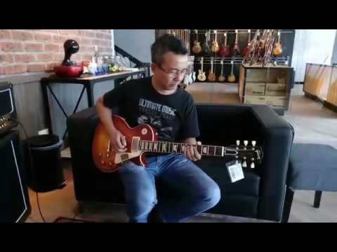 Karl Cromok With Gibson Southern Rock Tribute