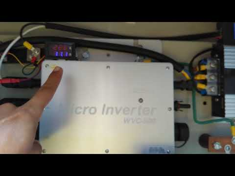 Testing Solar WVC 600 Micro Inverter - It's Really Work? - Home Solar System