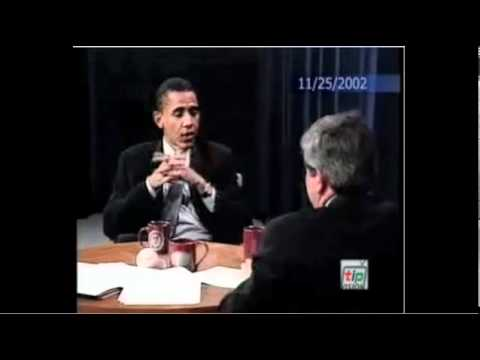 Obama Says that he would have voted against Iraq Resolution (11-25-2002)