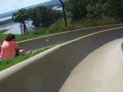 Alpine Slide at Chestnut Mountain in Galena Illinois