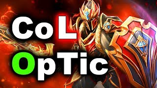 OpTic vs CompLexity - SUMMIT 8 DOTA 2 - Wildcard Elimination