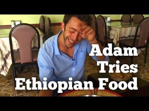 Adam Tries Ethiopian Food | That