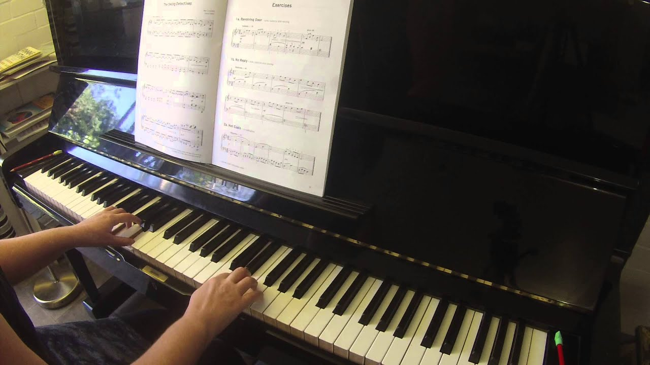 Exercises 1a 1b 2a Trinity College London piano grade 2 2015-2017