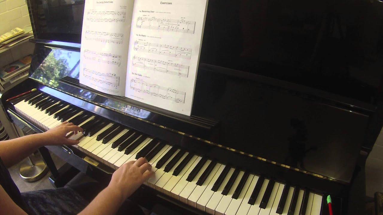 Exercises 1a 1b 2a Trinity College London piano grade 2 2015-2017