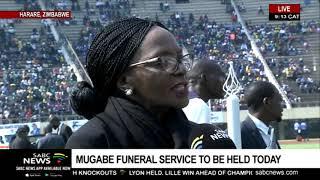 Mugabe proceedings begin at the National Sports Stadium
