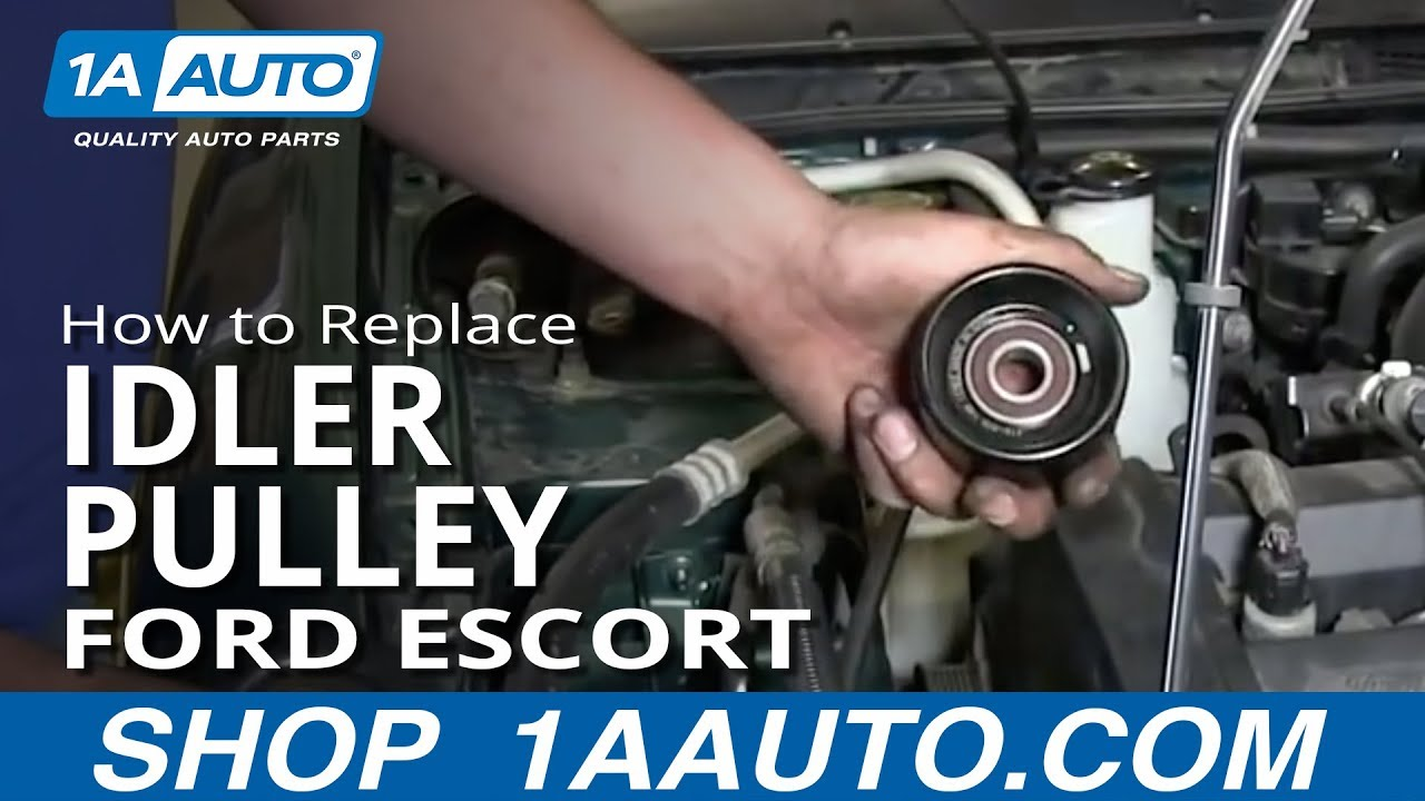 1994 Taurus Wiring Diagram How To Replace Install Squeaking Engine Belt Idler Pulley