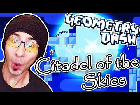 RIDICULOUSLY GOOD DEMON LEVEL ~ Geometry Dash CITADEL OF THE SKIES by ML500