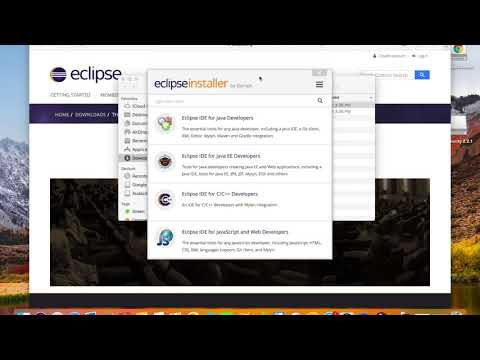 Installing Eclipse On Mac 2020