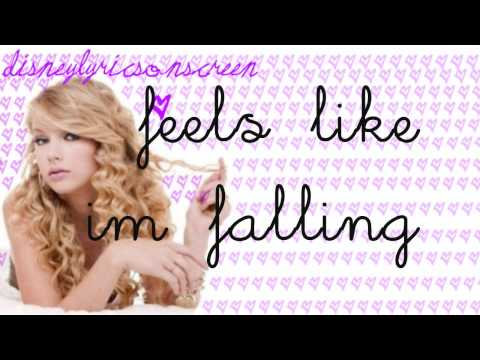 Taylor Swift - Crazier (Lyrics On Screen) HD