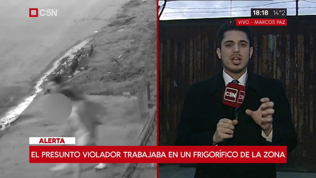 Cayó el presunto violador de Marcos Paz