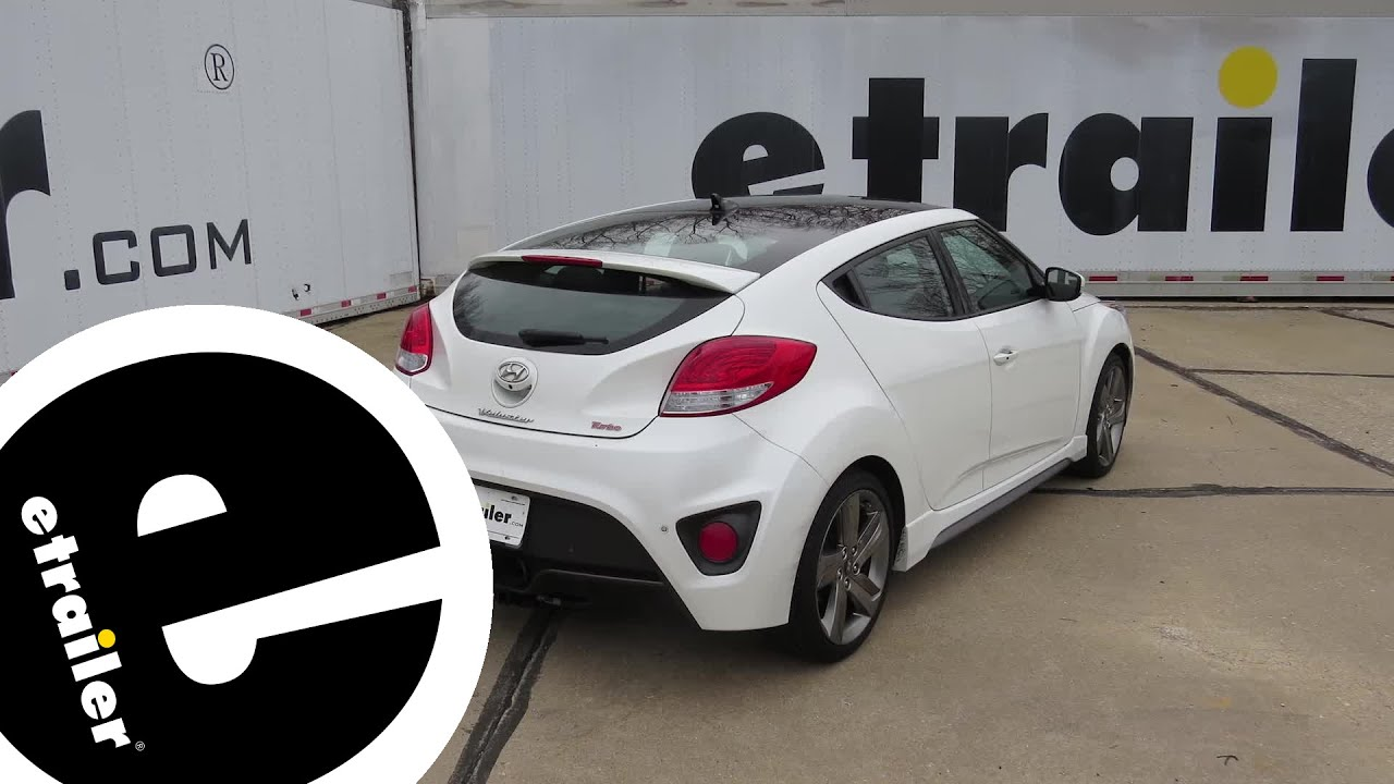 hyundai veloster turbo intercooler trailer hitch installation - 2014 hyundai veloster - curt ... veloster turbo trailer harness #1