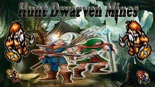 hunt dwarven mines paladin free 25 30 exp 30 40 k h dinheiro axb tibia