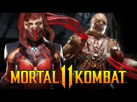 Mortal Kombat  - Exclusive Skarlet Gameplay! Closed Beta Matches!