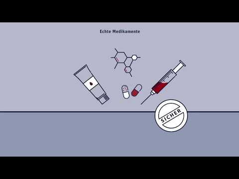 Der geschützte Weg eines Medikaments zum Patienten