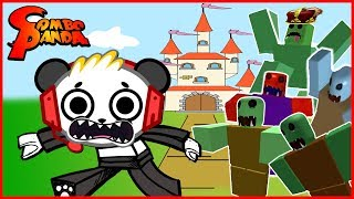 Roblox Zombie Attack Take Out KING SLIME Let's Play with Combo Panda thumbnail