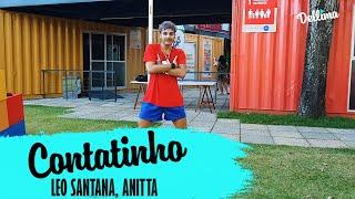 Contatinho, Leo Santana ft Anitta - Coreografia Dellima