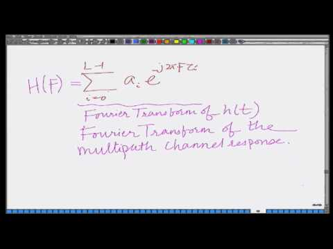 Lecture 23: Coherence Bandwidth of Wireless Channel
