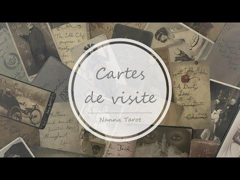 開箱  邪月閣樓幽靈卡 • Cartes de visite // Nanna Tarot