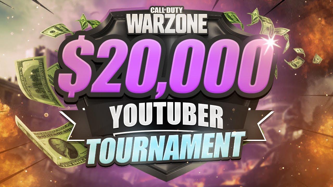 WARZONE $20,000 TOURNAMENT - Week 3 (CoD Battle Royale)