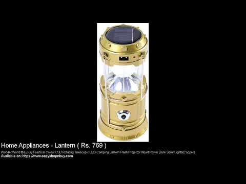 Lantern Rechargeable and Solar