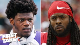 richard-sherman-defends-tim-ryan-s-comments-about-lamar-jackson-first-take