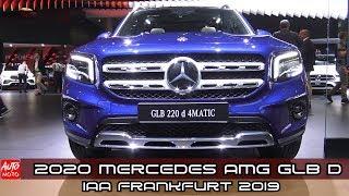 2020 Mercedes AMG GLB 220d - Exterior And Interior - Debut at Frankfurt Motor Show 2019