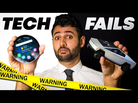 21 HORRIFIC Tech Fails they want you to forget. - Mrwhosetheboss