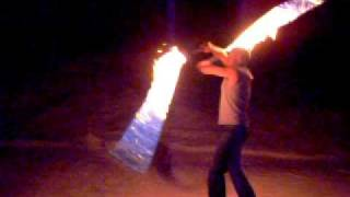 'Paranoid' Fire Whip Cracking