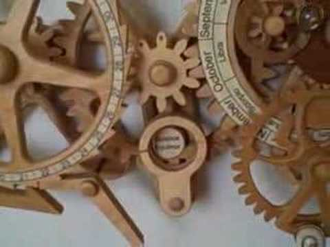 Celestial Mechanical Calendar And Orrery Youtube