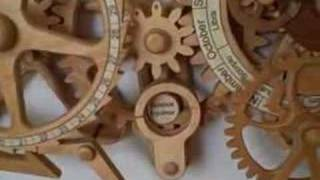 Celestial Mechanical Calendar And Orrery