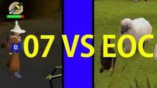 eoc vs 07 runescape video making