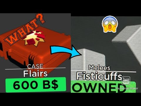 Fisticuffs Roblox Fisticuffs In Arsenal Youtube