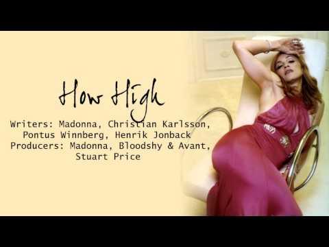 How High Madonna How High Lyrics
