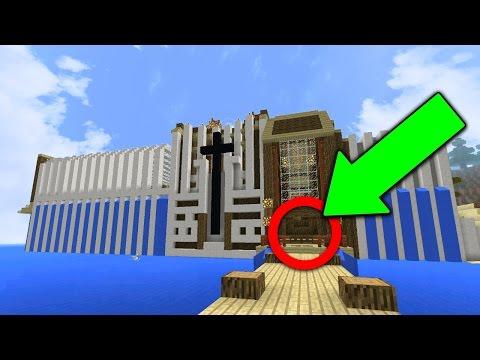 INSANE REDSTONE HOUSE in Minecraft Pocket Edition (Advanced