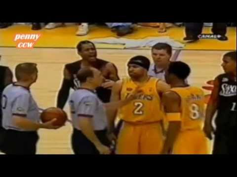 Allen Iverson Full Highlight vs Kobe Shaq Lakers 2001 NBA Finals Game 2 *Argue with Kobe
