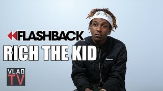 Flashback: Rich the Kid on Getting Fired at Wendy's for Being Too High, Last Job He Had