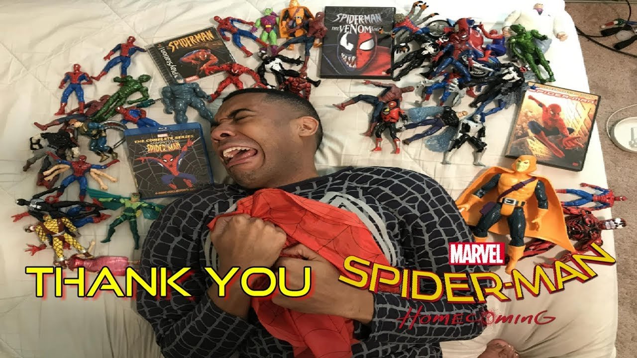 THANK YOU SPIDER-MAN HOMECOMING!!!!!