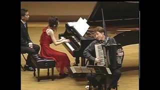 Stefan Hussong & Shizuka Shimoyama(下山静香) Astor Piazzolla: Milonga sin palabras