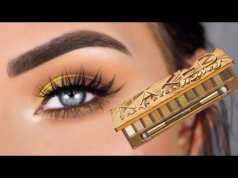 Urban Decay Naked HONEY Palette | Eye Makeup Tutorial + Review