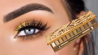 Urban Decay Naked HONEY Palette   Eye Makeup Tutorial + Review
