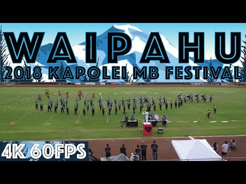 "TWO WORLDS APART | 2018 Waipahu HS ""Marauder"" MB & CG | 2018 Kapolei MB Festival"