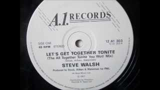 Steve Walsh  - Lets get together tonight. 1987