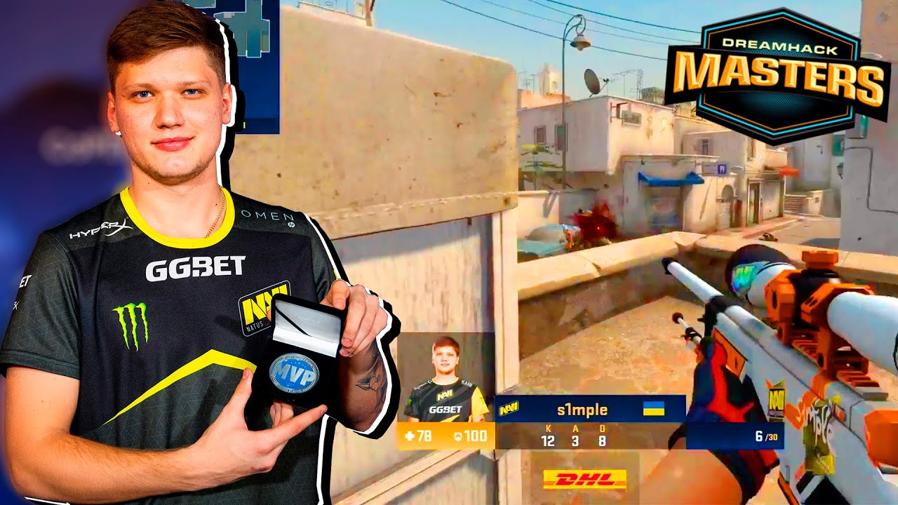 S1MPLE - MVP of DreamHack Masters - HIGHLIGHTS | CSGO