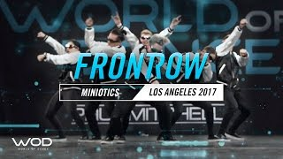 vuclip Miniotics | FrontRow | World of Dance Los Angeles 2017 | #WODLA17